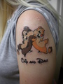 My Chip and Dale Tattoo - tattoos photo