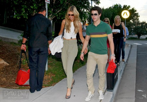 Nick Jonas and Delta New 2011