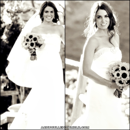Nikki Reed wallpaper called Nikki Reed Wedding Pic