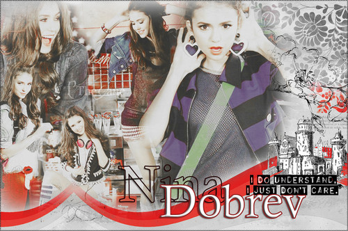 Nina Dobrev wallpaper entitled NinaDobrev!