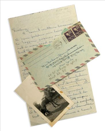 Original cards to B. Glenn