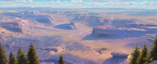 Disney Pixar Cars Wallpaper Called Ornament Valley