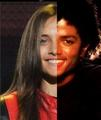 Paris and Michael ONE FACE!! :
