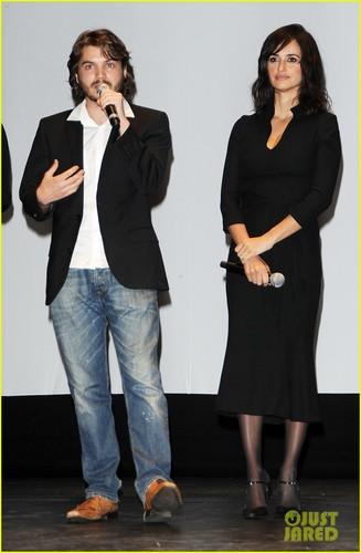 Penelope Cruz: Torino Film Festival Opening with Emile Hirsch!
