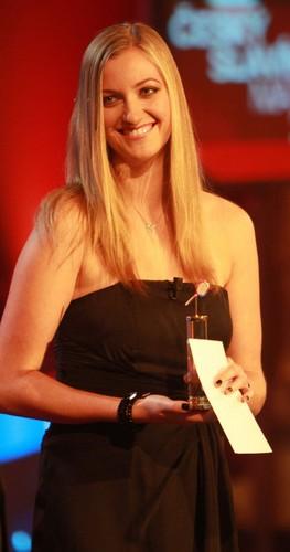 Petra Kvitova handed price in czech muziki