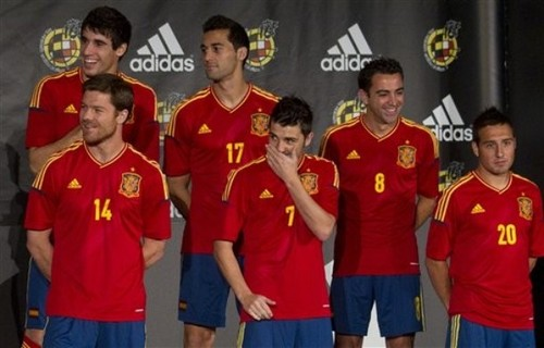 Presentation of the new jersey 10/11/11