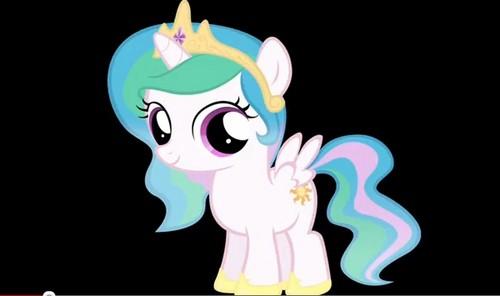 Princess Celestia Filly