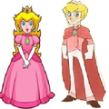 Princess Peach-Prince Peach - gender-swapping photo