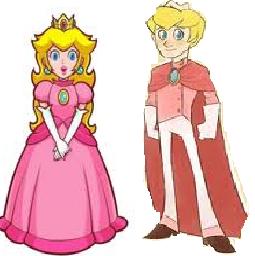 Princess Peach-Prince pic, peach