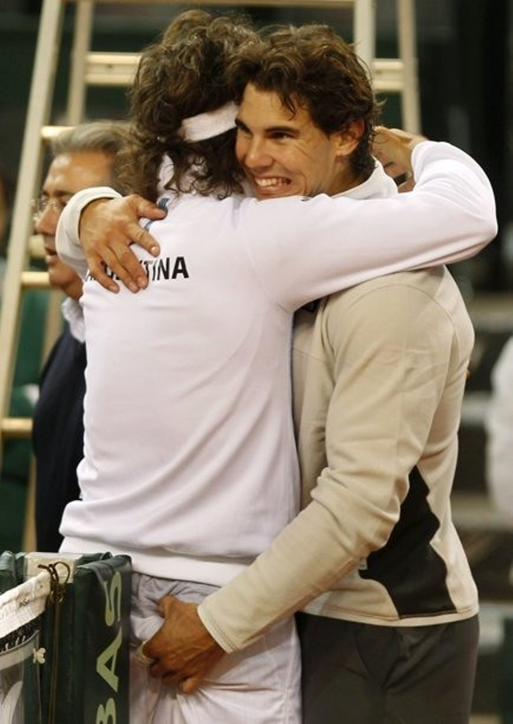 Rafael Nadal sexually harassed player !