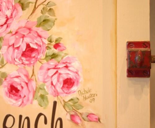 バラ on my dream cupboard