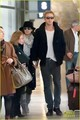 Ryan Gosling &amp; Eva Mendes: Holding Hands at Paris Airport - ryan-gosling photo