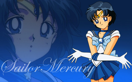 Sailor Mercury wallpaper with anime entitled Sailor Mercury