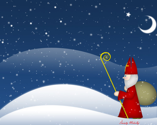Saint Nicolaus - christmas Wallpaper