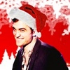 Robert Pattinson photo probably with a well dressed person and a portrait entitled Santa Rob