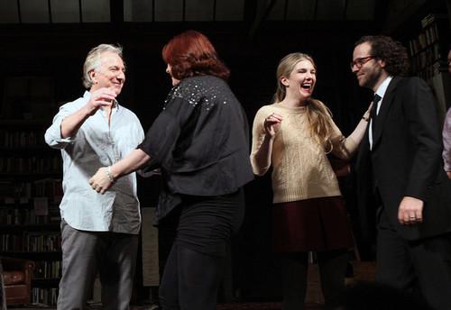 Seminar Broadway opening night -Arrivals &Curtain Call