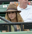 Shakira on Nadal match - gerard-pique photo