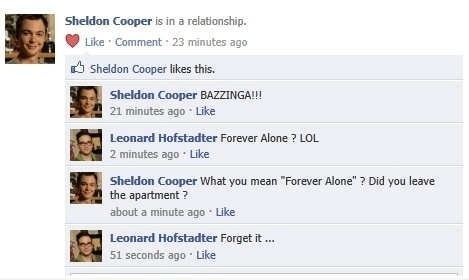 Sheldon does not get it