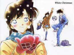 Shinichi Kudo and Ran Mouri wallpaper with anime entitled Shinichi Kudo and Ran Mouri