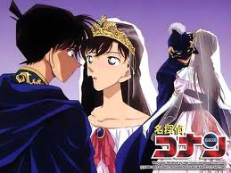 Shinichi Kudo and Ran Mouri wallpaper possibly with anime entitled Shinichi Kudo and Ran Mouri