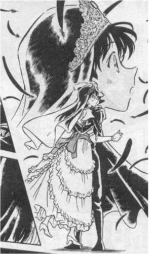 Shinichi Kudo and Ran Mouri karatasi la kupamba ukuta with anime titled Shinichi Kudo and Ran Mouri