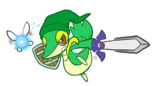 Snivy Link