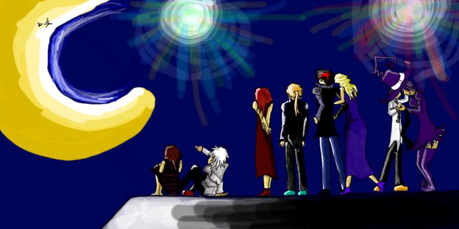 Soul EAter, OC Party: Fireworks