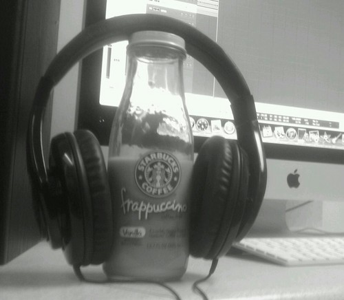 Starbucks in the studio