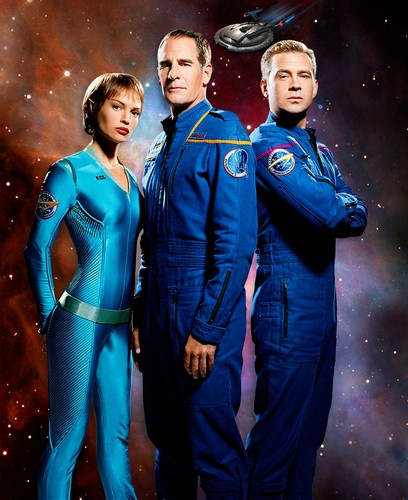 T'Pol, Archer and Trip