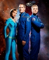 T'Pol, Archer and Trip - star-trek-enterprise photo