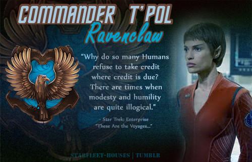 T'Pol - Ravenclaw