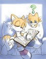 Tails and his Chao - miles-tails-prower photo