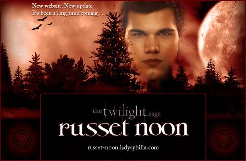 Taylor Lautner as Jacob Black in Russet Noon