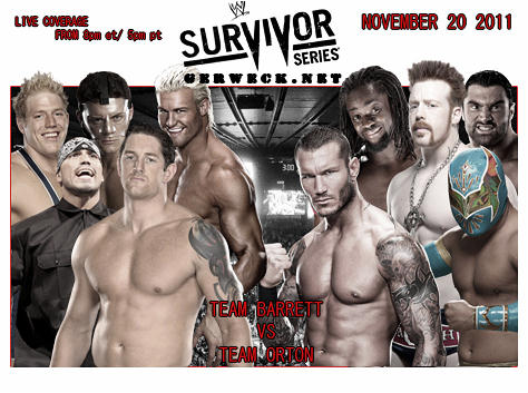 Team Barrett Vs Team Orton