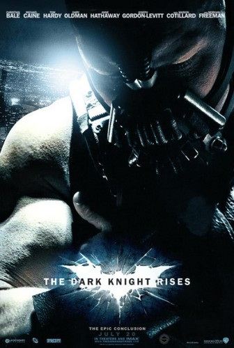 The Dark knight Rises Movie Poster 'Bane'