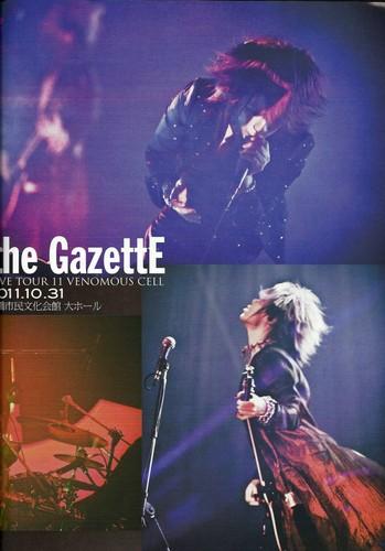 "The GazettE [2011] ""Scans"""