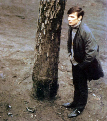 The only colored picture of Stuart Sutcliffe