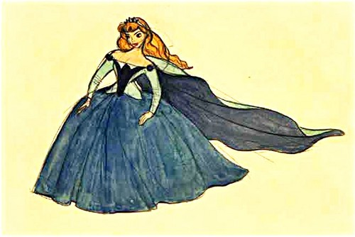 Walt Disney Character Designs - Princess Aurora