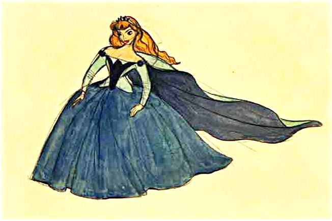 Walt Disney Character Designs - Princess Aurora - Walt Disney