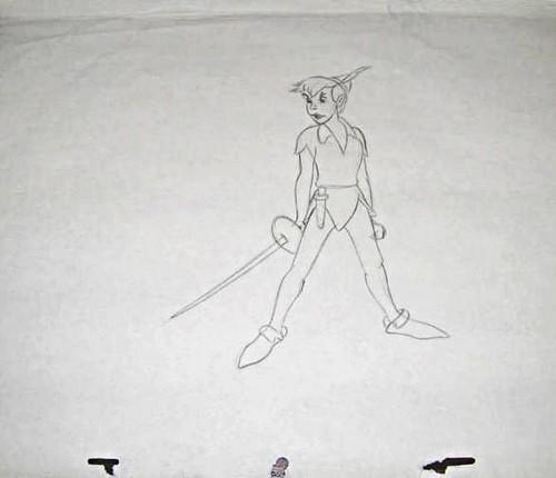 Walt disney Sketches - Peter Pan