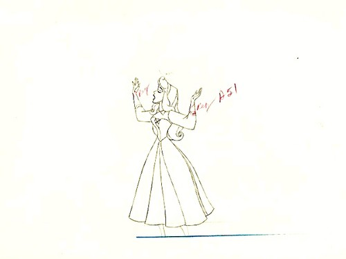 Walt डिज़्नी Sketches - Princess Aurora