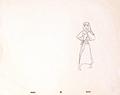Walt ディズニー Sketches - Princess Aurora