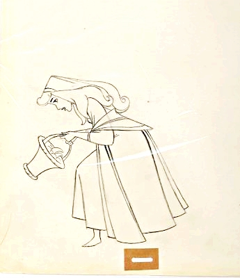 Walt ディズニー Sketches - Princess Aurora