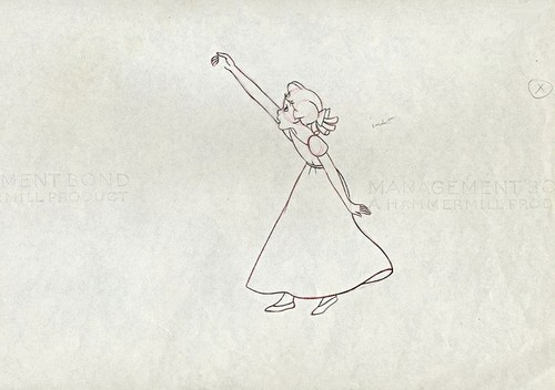 Walt Disney Sketches - Wendy Darling