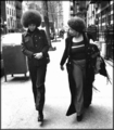 Angela Davis and Toni Morrison - feminism photo
