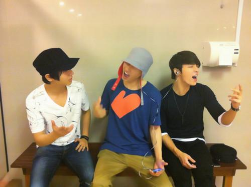 Yesung, Donghae, and Eunhyuk