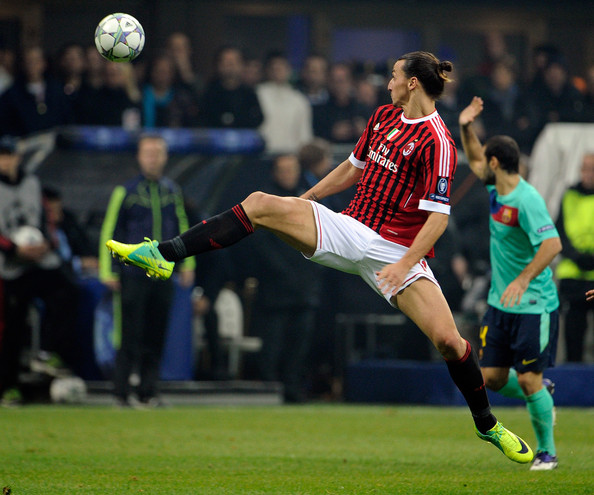 Z. Ibrahimovic (AC Milan - Barcelona)
