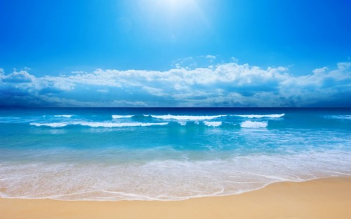 Beautiful Pictures پیپر وال containing a beach, an oceanfront, and a seashore entitled beautiful ocean