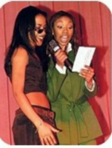 brandy and Aaliyah