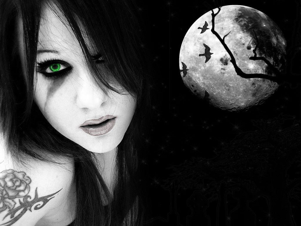 Beautiful Gothic Wallpapers: Emos And Goths Images Dark Nights. HD Wallpaper And